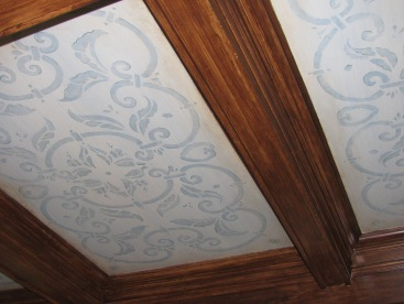 finished ceiling panel